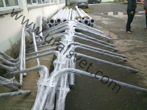 Опора консольная ОКС и кронштейны консольные двухрожковый и трехрожковые отгружены в поселок Салым Нефтеюганский район