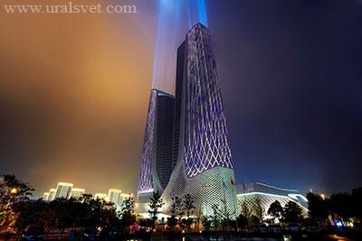 Philips создала образ «космических» зданий архитектора Захи Хадид