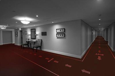 Светодиодный ковер создан специалистами Philips и Desso
