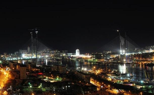 Количество уличных фонарей во Владивостоке выросло с 3 тысяч до 34 тысяч