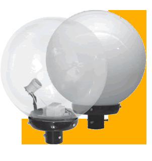 Светильник парковый шар