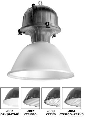 Светильники для производственных помещений РСП 51, ЖСП 51, ГСП 51