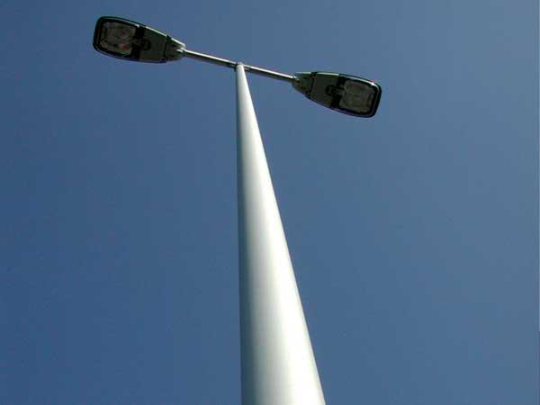 Железобетонный столб под освещение